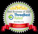 Best Business of 2020 ThreeBest